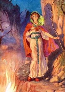 Sigyn_Loki's_Wife_by_Harry_George_Theaker_1920